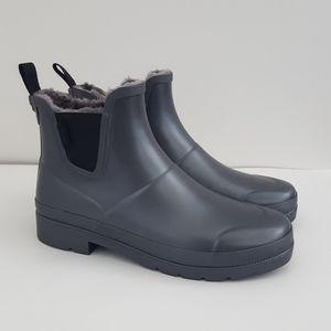 Tretorn Linawnt Chelsea pewter rain snow boots 9